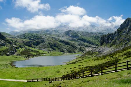 Majestuoso Lago Ercina