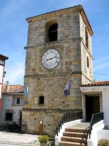 Torre del Reloj en Lastres