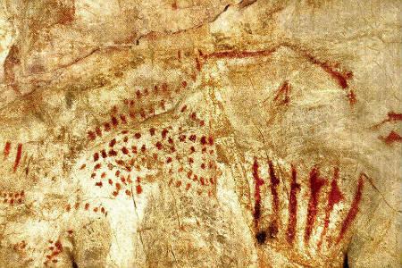Las Pinturas rupestres de la cueva