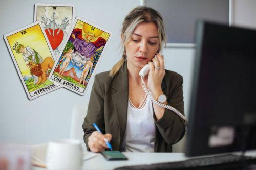 consultar el tarot del trabajo