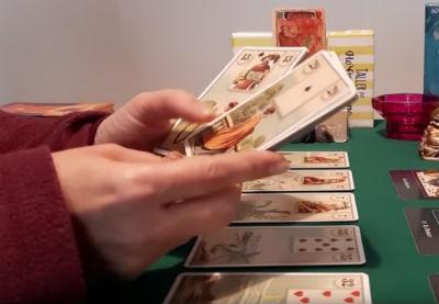 tirada de cartas gitanas