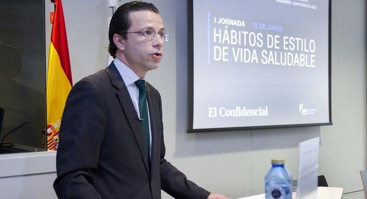 El consejero de Haciendo y Función Pública de la Comunidad de Madrid