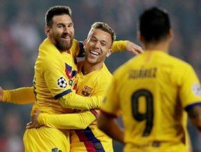 Messi empieza a recuperar el tiempo perdido