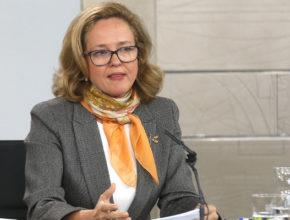 Nadia Calviño calma los ánimos de Bruselas y las grandes empresas respecto al Gobierno progresista