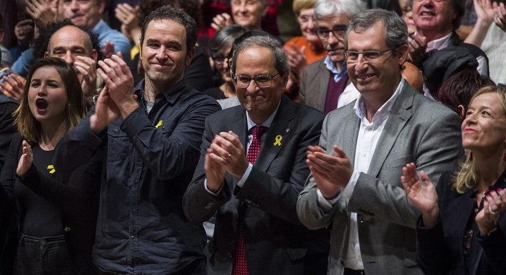 Quim Torra condena la violencia vivida los últimos tres días en Catalunya