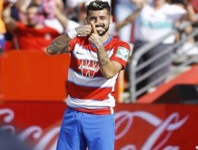 El gol de Vadillo sitúa al Granada líder