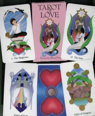 cartas del tarot amor