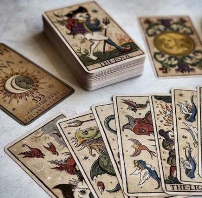 cartas tarot de la luna