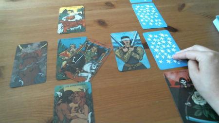 tirada de cartas celtas