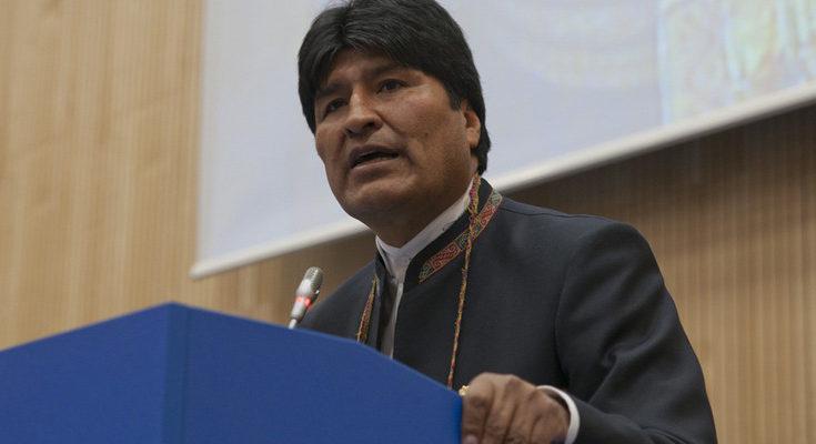 El expresidente de Bolivia insiste en que ha sufrido un Golpe de Estado