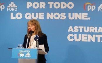 Paloma Gázquez, en un acto de la campaña electoral