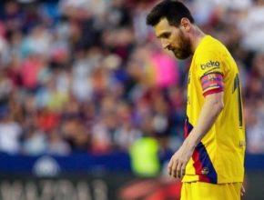 De nada sirvió el gol de Messi en el Ciutat de Valencia