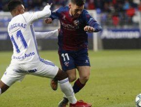 El Oviedo fue incapaz de inquietar al Huesca en el Alcoraz