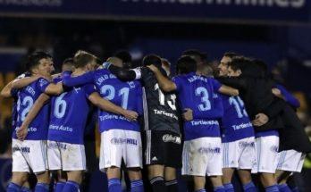 Los goles de Borja Sánchez y Yoel Bárcenas dieron los tres puntos al Oviedo