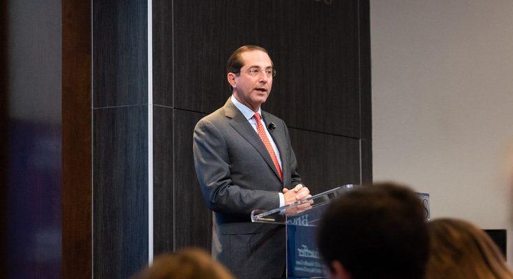 Alex Azar, el secretario de Salud y Servicios Humanos de EEUU