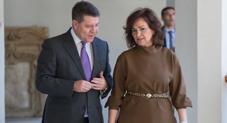 La vicepresidenta concedió una entrevista en exclusiva al diario El País