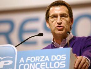 El presidente de la Xunta recuerda que él será el candidato del PP en las elecciones gallegas