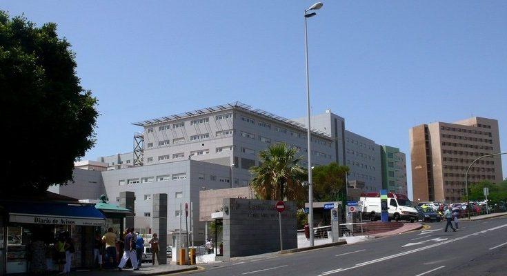 El paciente fue trasladado al Hospital Nuestra Señora de la Candelaria, en Tenerife