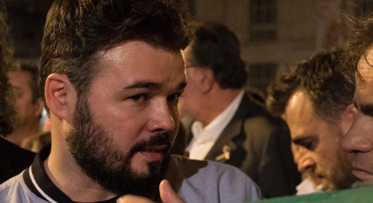 El diputado de ERC ve positiva cualquier reunión entre Sánchez y Torra