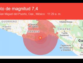 Alerta en México: un fuerte sismo sacudió al país