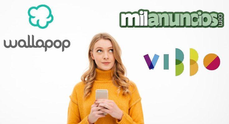 Wallapop Milanuncios Vibbo ventajas e inconvenientes