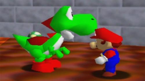 Yoshi en Súper Mario 64