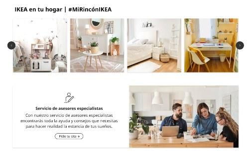 servicios que ofrece Ikea online