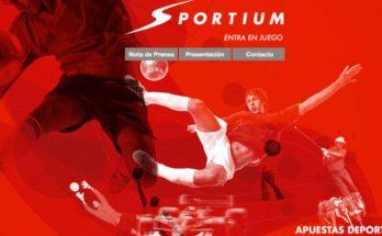 Sportium casa de apuestas