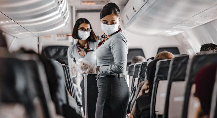 Avión durante la pandemia de COVID